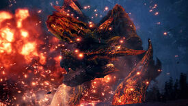 Image for Monster Hunter: World is getting flame-y new monster variants on PC in April
