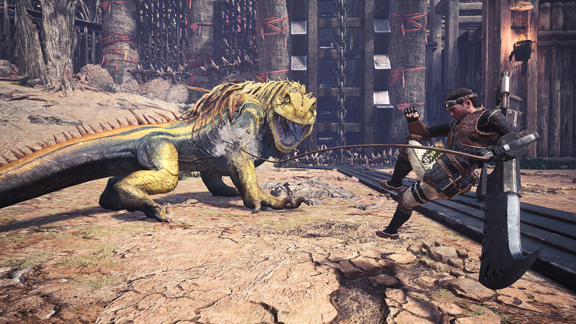 Have you played … Monster Hunter: World?