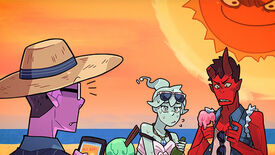"Image for Punch the sun in Monster Prom's new ""F*ckin' Hot"" update"