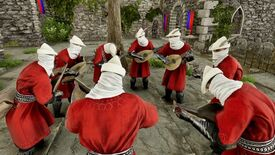 Image for This Mordhau mod will let you whack players with lutes to form bands