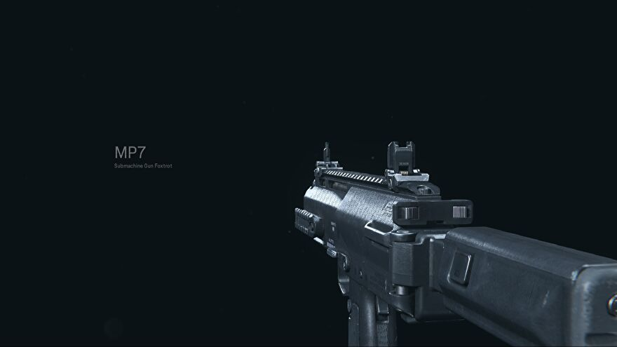 The MP7 in Call of Duty Warzone
