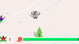 Image for Adorable Yeti Game Lets You Be The SkiFree Monster