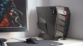 Image for MSI Aegis 3 8th review: The PC that thinks it's from Dead Space