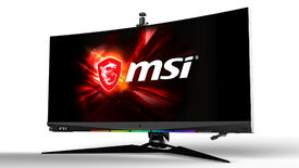 Image for I'm worried that MSI's new HMI gaming monitor is going to kill me in my sleep