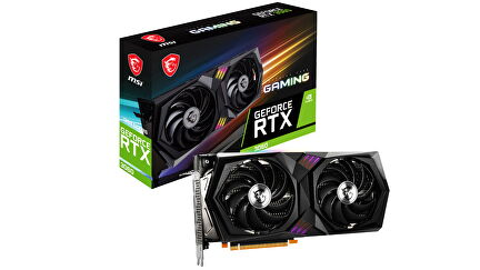 MSI RTX 3060 Gaming product photo showing the card and box