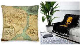 Image for There's now an official Kingdoms of Amalur map cushion