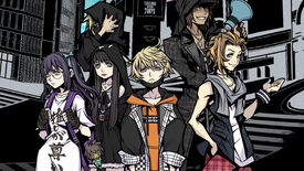 The gang pose in Neo: The World Ends With You's key art.