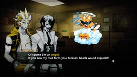 Image for Neon White is part demon parkour game, part dating sim