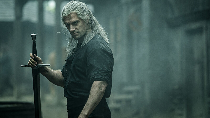Geralt Of Rivia in Netflix's The Witcher adaptation.