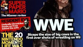 A cover of NGamer, a Nintendo magazine, featuring a picture of The Undertaker