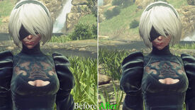 Image for Nier: Automata's high-res texture pack is looking swish