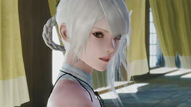 A close-up of Kaine from the Nier Replicant remake