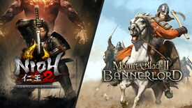 Artwork for Nioh 2 and Mount & Blade II: Bannerlord
