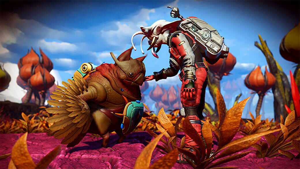 No Man's Sky lets you adopt weird alien pets now