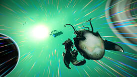 Image for No Man's Sky now has living ships with creepy, veiny cockpits
