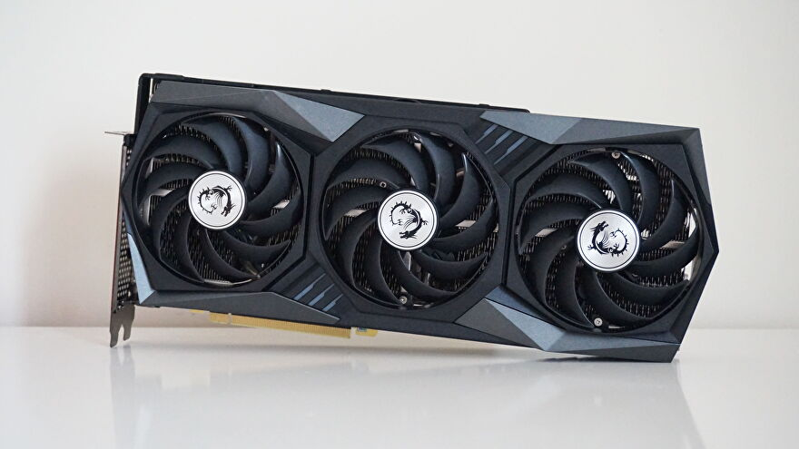 A photo of the MSI GeForce RTX 3060 Gaming X Trio