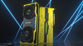 Image for Updated: Nvidia unveil Cyberpunk 2077 graphics card, and now we need new cybernetic eyes