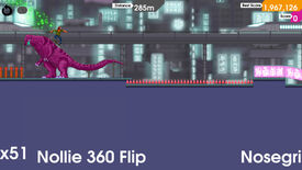 Image for Skate Or Dinosaur: OlliOlli Grinding PC Next Week