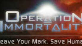 Image for Operation Immortality - DNA In Spaaaaaace