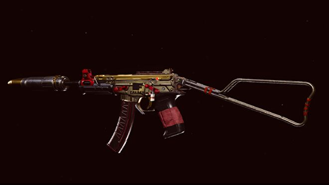 A Blueprint for the OTs 9 SMG in Warzone Season 4 Reloaded
