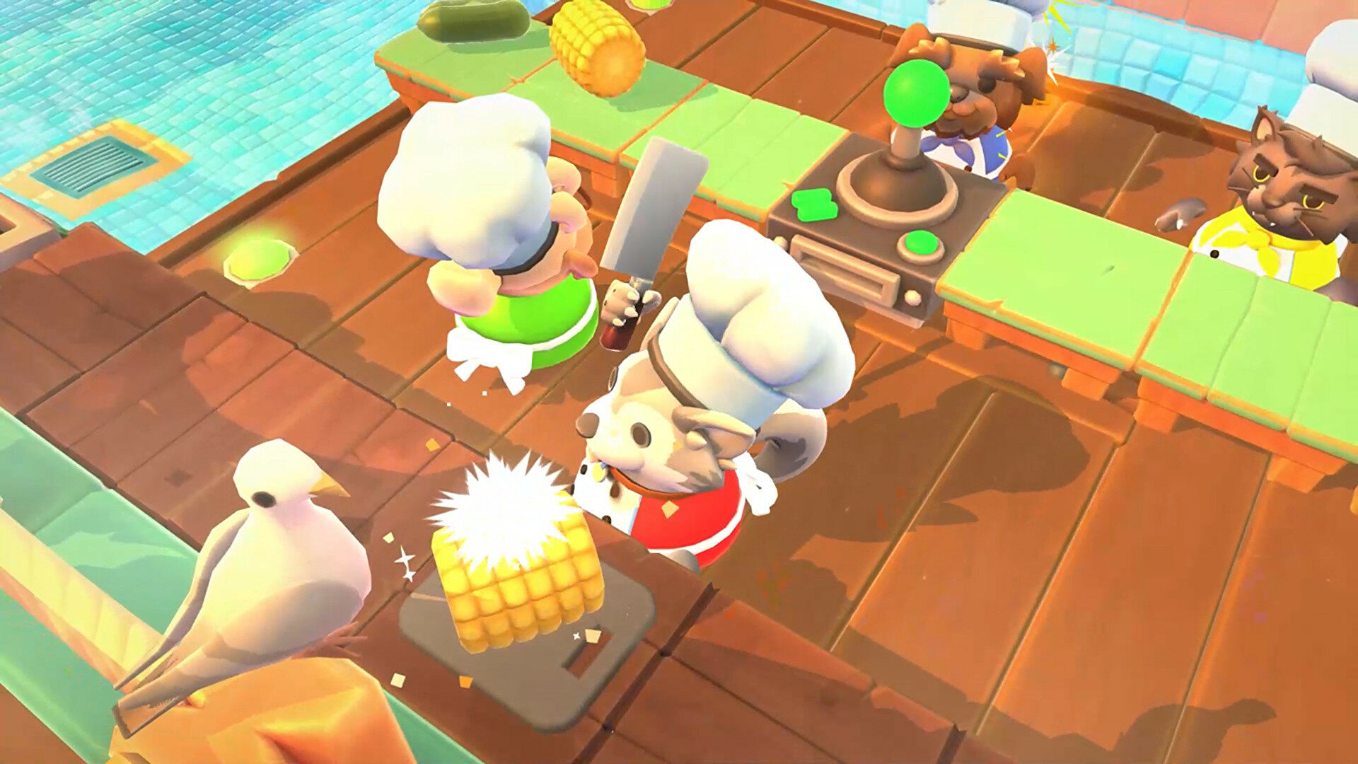 Overcooked 2 is free to keep via the Epic Games Store this week