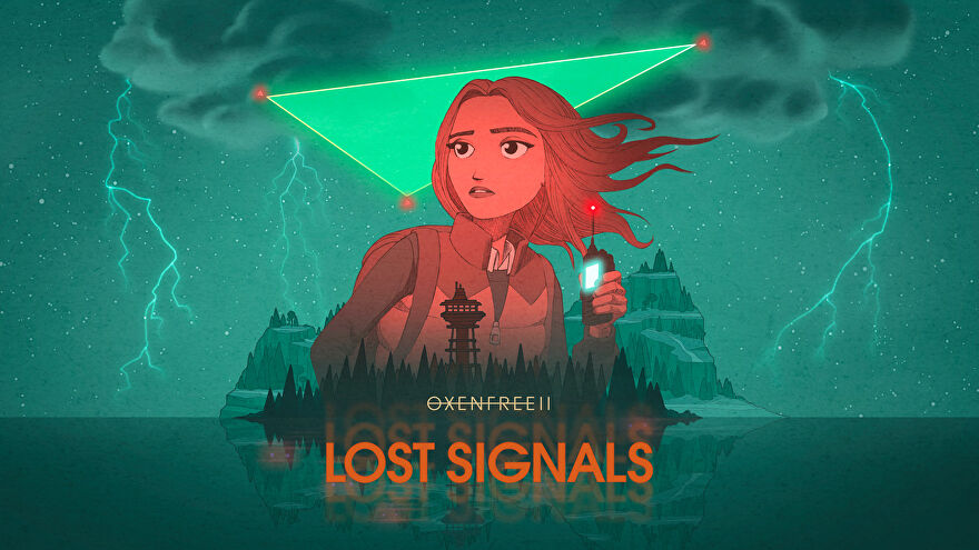 Artwork showing the main character from Oxenfree II: Lost Signals