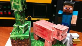 Image for And Then There's The Minecraft Papercraft