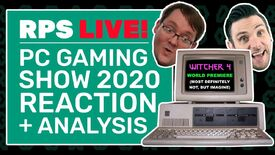 Image for Come watch the PC Gaming Show with our post-show analysis