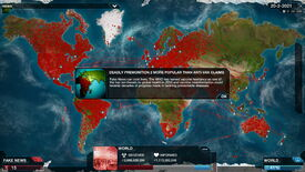 Image for Plague Inc now simulating the viral horrors of fake news