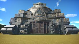 Image for No, this Mortal Engines-themed Planet Coaster build won't eat your rides