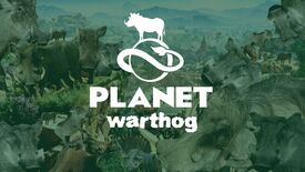 Image for Planet Zoo is, temporarily, a game about mass-producing knackered warthogs