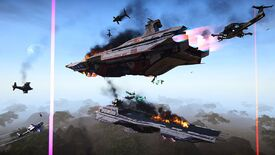 Image for PlanetSide 2 has added orbital strikes and massive warships
