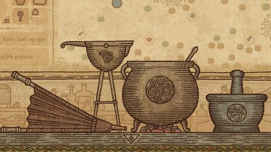 Image for Smashing ingredients in Potion Craft is better than meditation or yoga