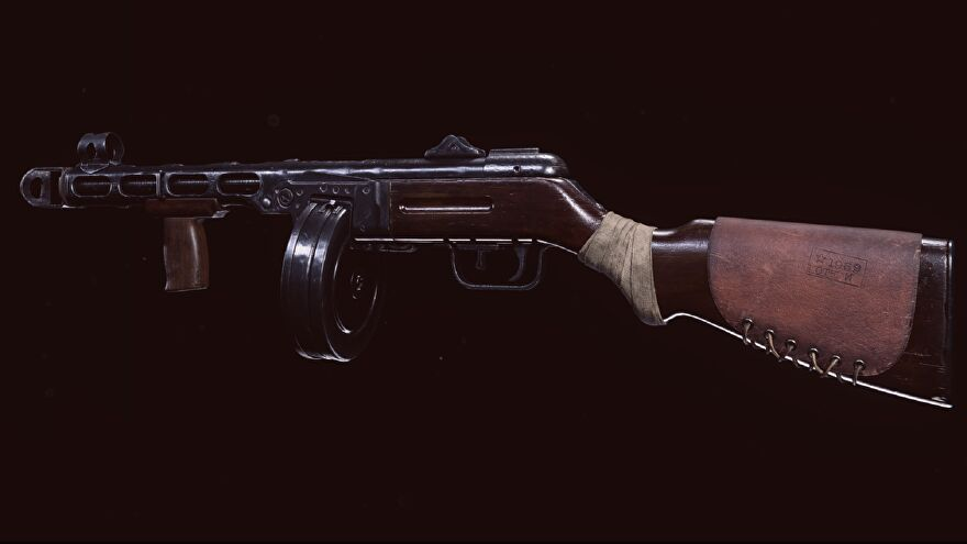 The PPSh SMG in Warzone