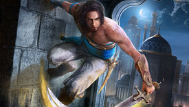 The prince wall-running in The Prince Of Persia: The Sands Of Time Remake's key art.