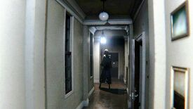 A spooky lady in a hallway in PT.