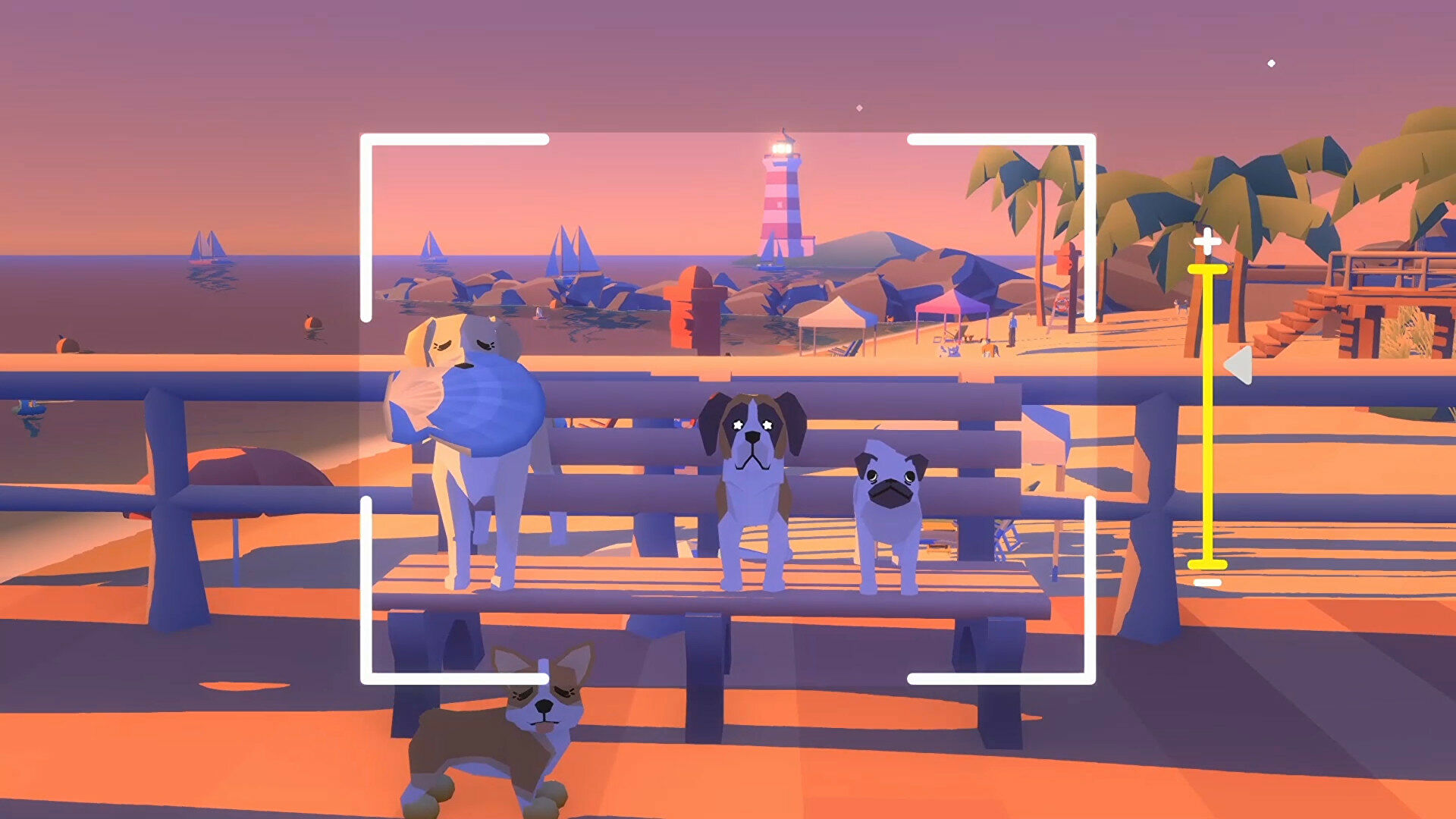 Pupperazzi is a chill game about taking photos of very good dogs