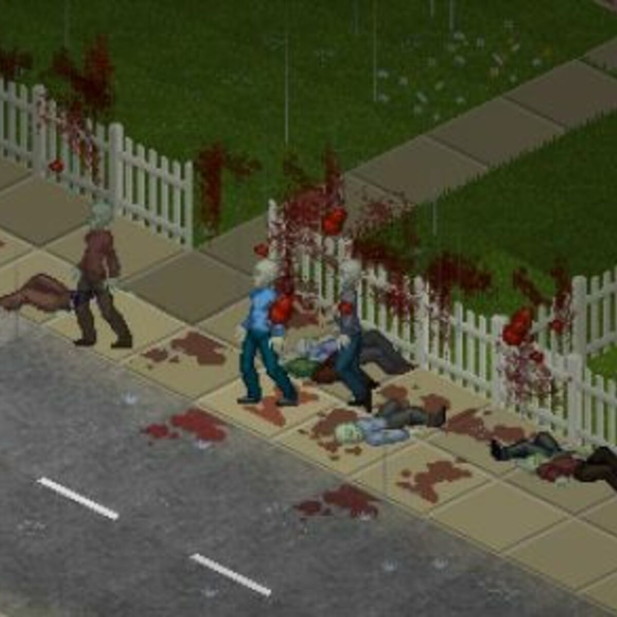 Oh Happy Dayz Project Zomboid Multiplayer On Its Way   Rock ...