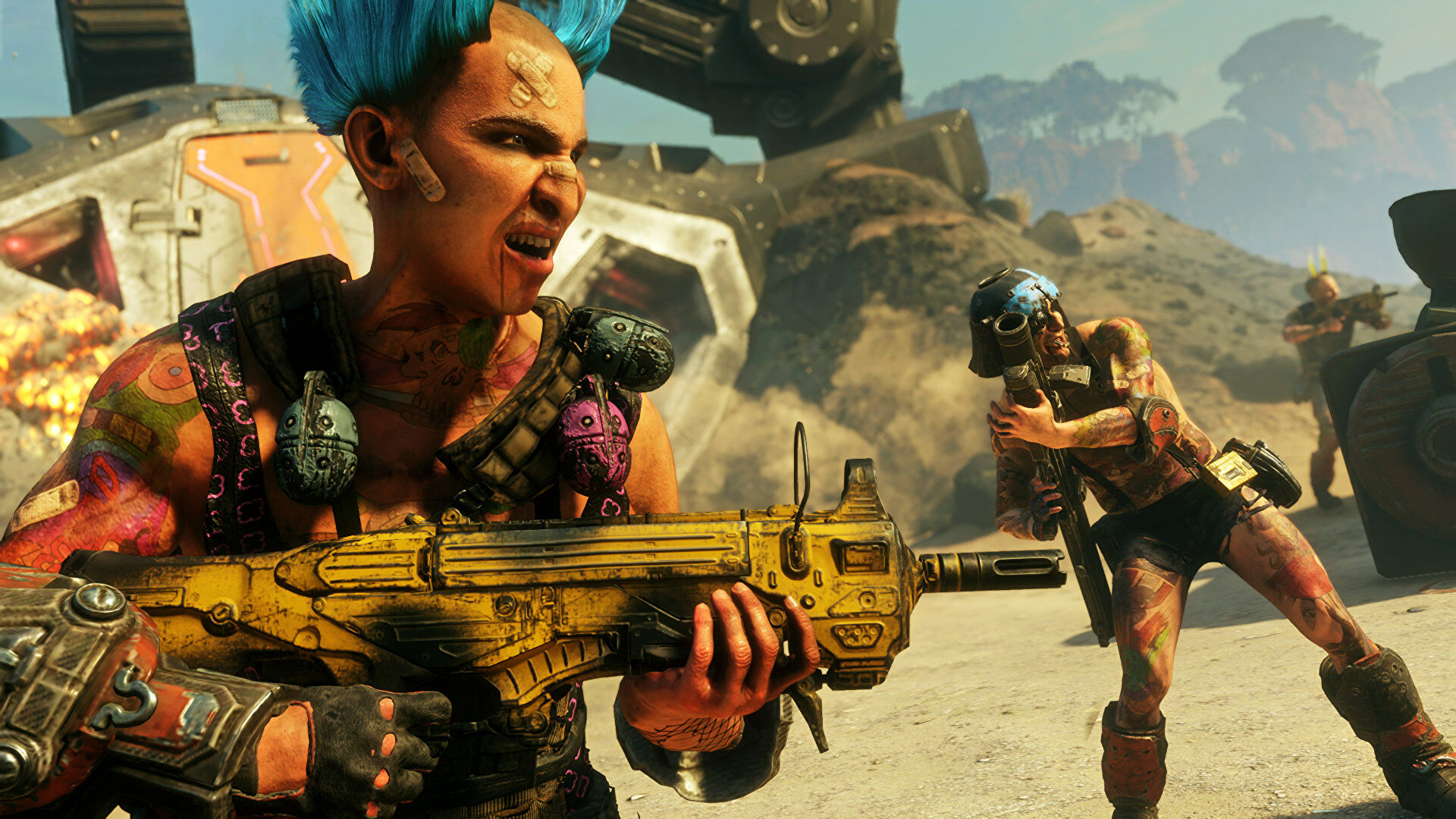 Rage 2 is free to keep via the Epic Games Store this week