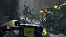 Soldiers fight off a monster in Rainbow Six Extraction