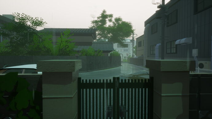 Image for I want to bust Rainy Season's locked gate wide open