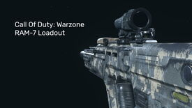 A Warzone RAM-7 on a blank background