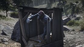 Image for People keep taking confused selfies with a gorilla in Red Dead Redemption 2