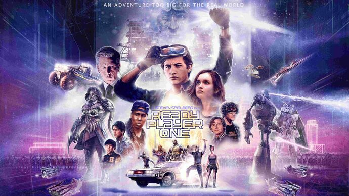 "Image for Ready Player One and ""let's talk about your DeLorean for a minute."""