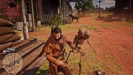Image for Red Dead Online hackers are sending spooky scary skeletons to attack players