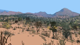 Image for Red Desert Render is inspired by a Red Dead Redemption 2 glitch