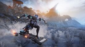 Image for Warframe to add hoverboards, seamless spaceship battles