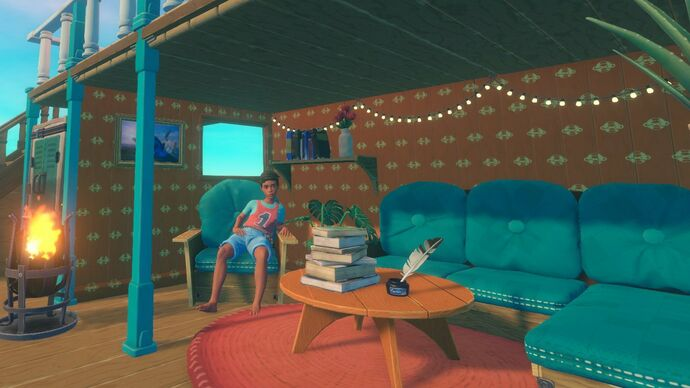 Image for Raft's next update lets you redecorate your floating home