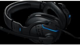 Image for Roccat's Khan Aimo RGB brings LEDs and Hi-Res audio to its classic gaming headset