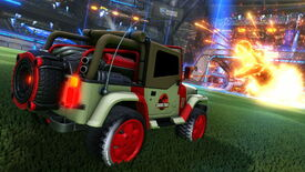 Image for Jurassic Park welcomed to Rocket League in next DLC